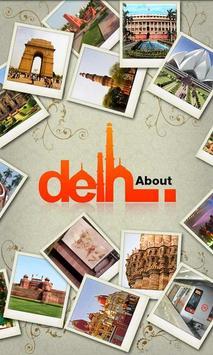 About Delhi poster