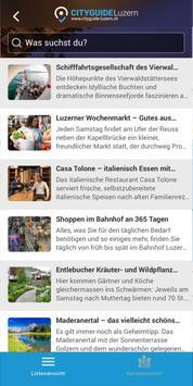 CITYGUIDE Luzern screenshot 1