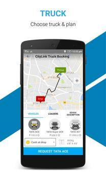 City Link-Bangalore Truck Hire screenshot 2