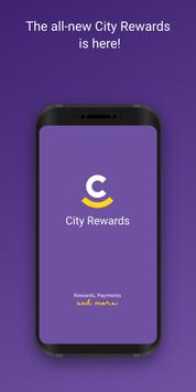 City Rewards 2.0 Plakat