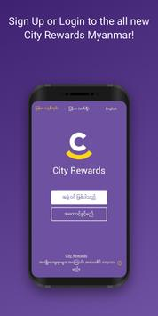 1 Schermata City Rewards 2.0