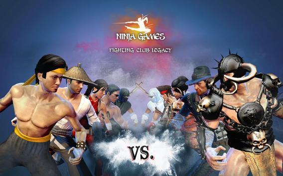 Ninja Oyunu - En Güzel Kavga Dövüş Oyunları Ekran Görüntüsü 10