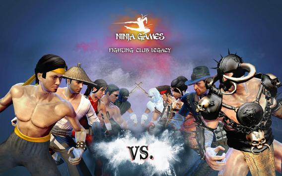 Ninja Oyunu - En Güzel Kavga Dövüş Oyunları Ekran Görüntüsü 16