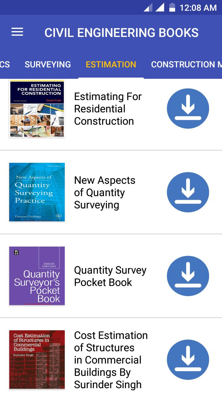 Civil Engineering PDF Books, Lectures & Notes 2019 for Android - APK