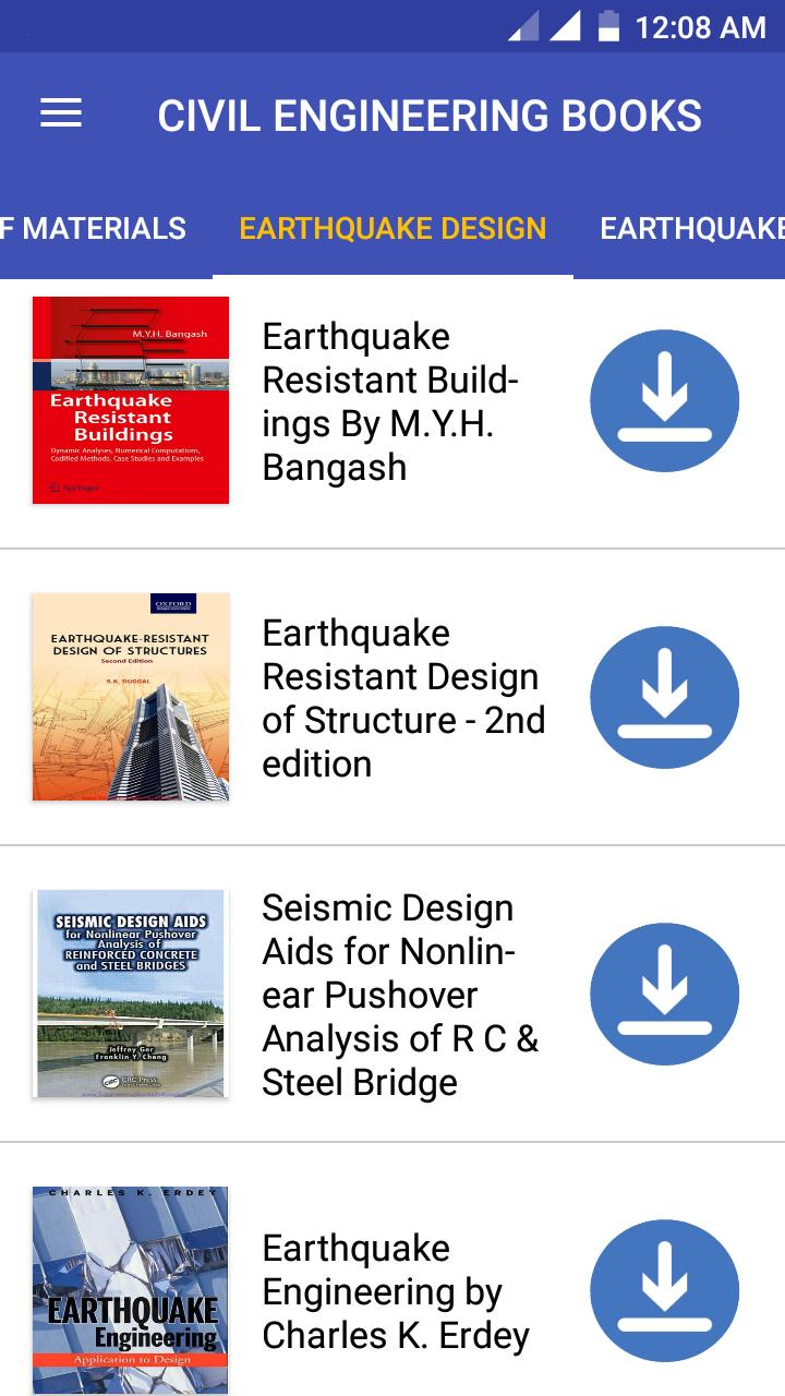 Civil Engineering PDF Books, Lectures & Notes 2019 for