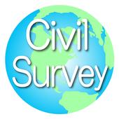 Civil Surveyor-free (Construction Survey App) icon
