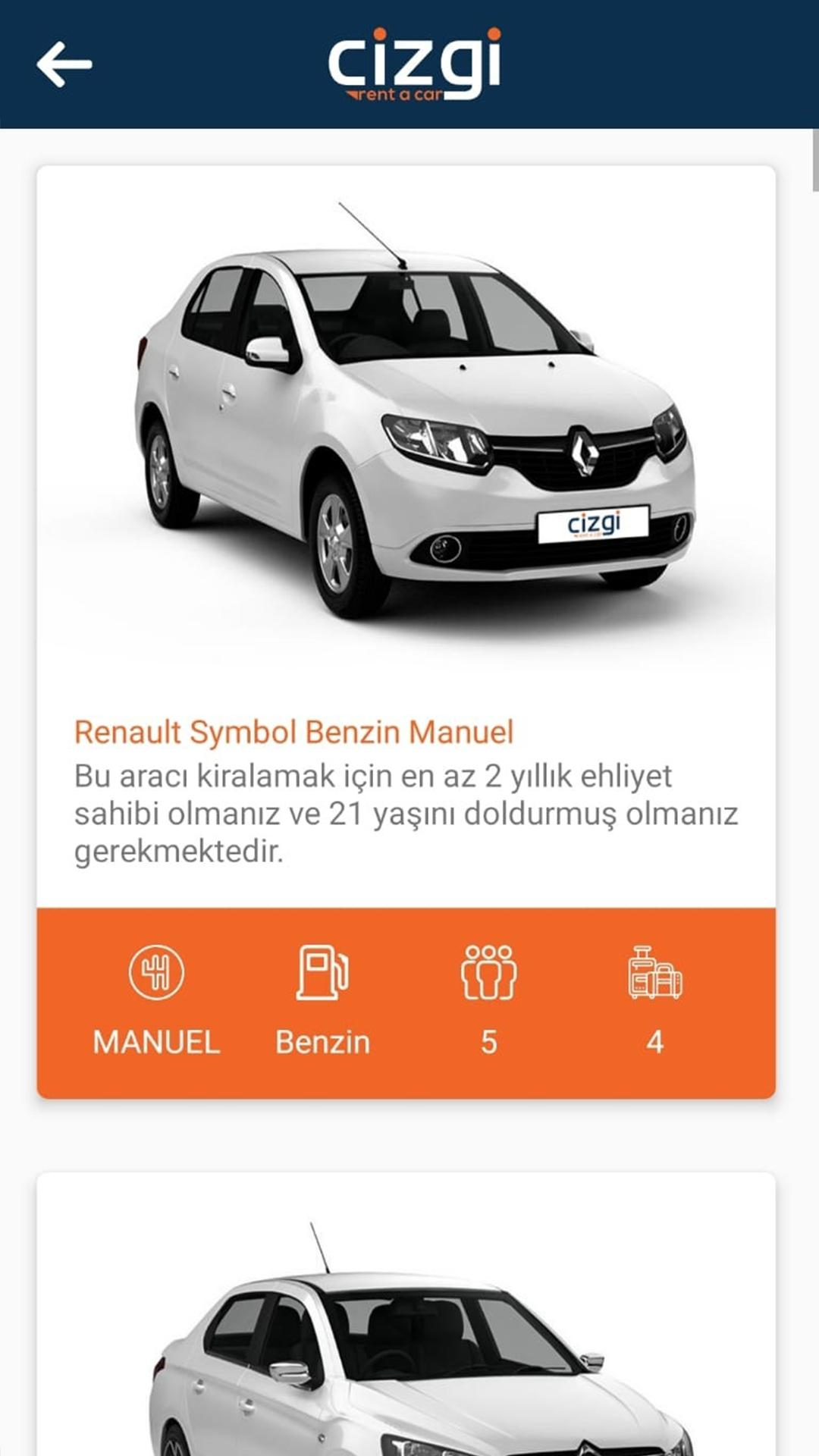 Cizgi Rent A Car For Android Apk Download