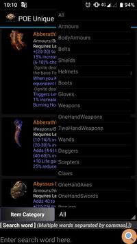 POE Unique Item screenshot 5