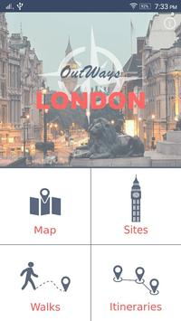 London Travel Guide poster