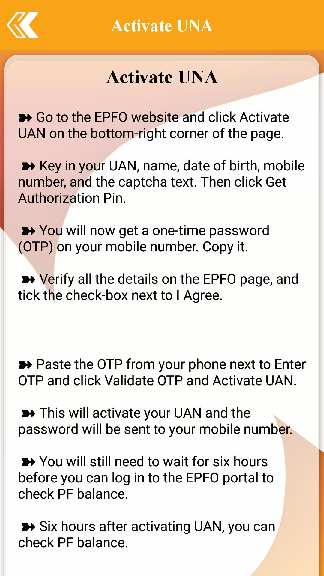 EPF Balance Check for Android - APK Download