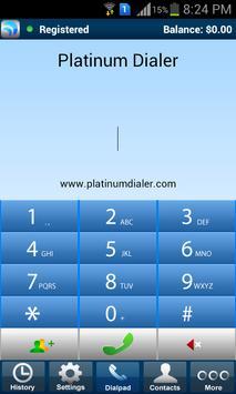 Platinum Dialer Poster