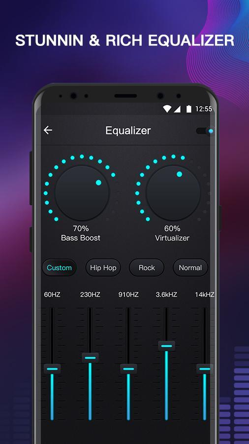 Free Music - MP3 Player, Equalizer & Bass Booster for
