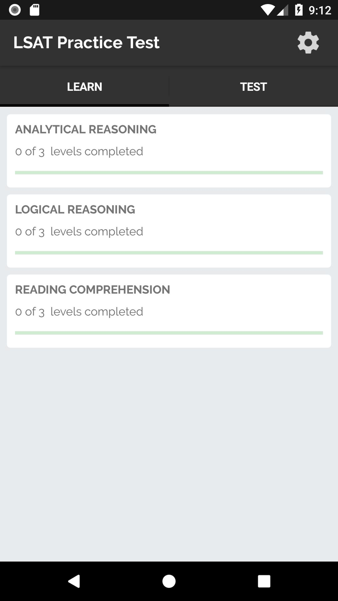 LSAT Practice Test for Android - APK Download