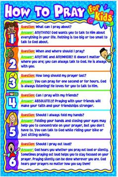Bible Lesson For Kids poster