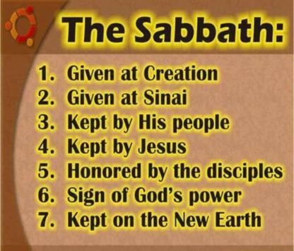 Happy Sabbath Quotes الملصق