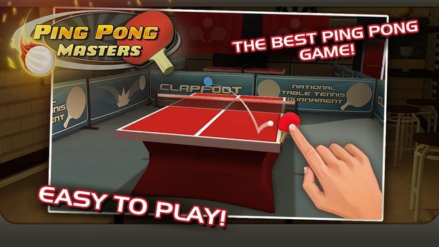 Ping Pong Masters poster