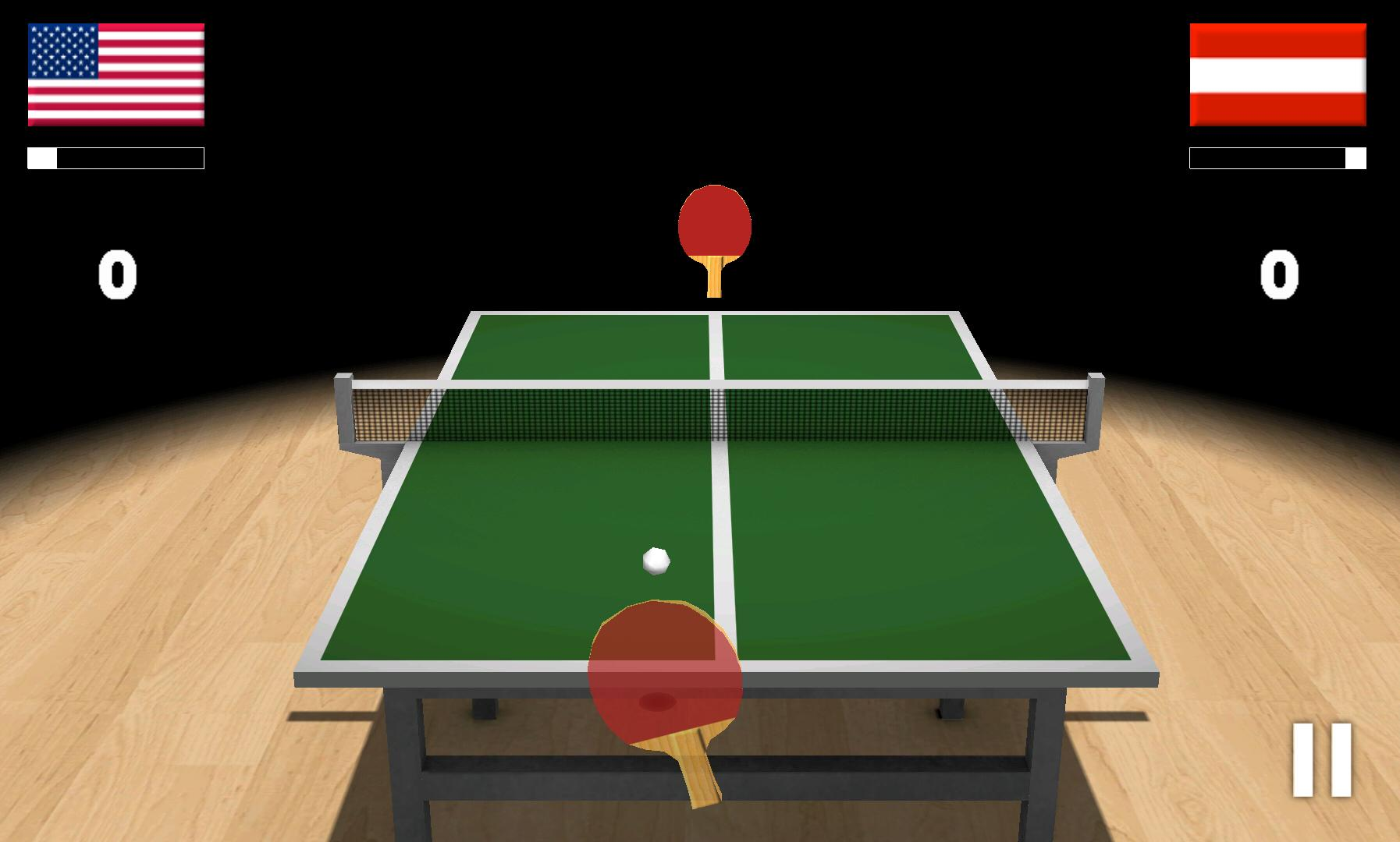 3d table tennis game free download