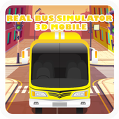 Real Bus Simulator 3D Mobile icon