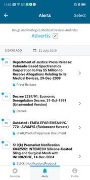 Cortellis Regulatory Alerts Ekran Görüntüsü 2