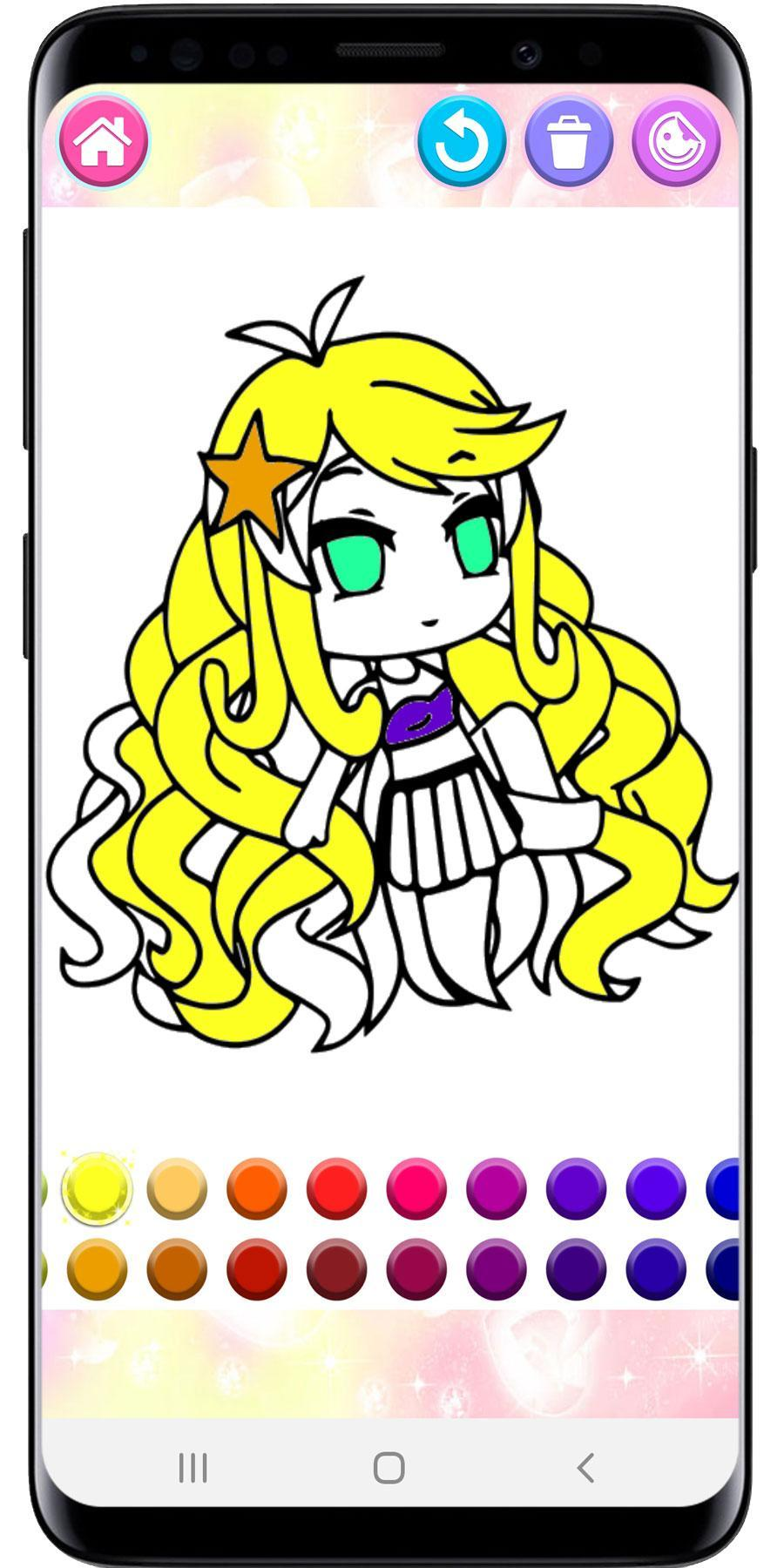 How To Color Gacha Life Coloring Book For Android Apk