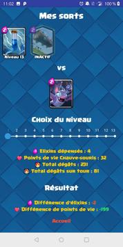 Spell Comparator pour Clash Royale screenshot 5