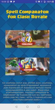 Spell Comparator pour Clash Royale-poster
