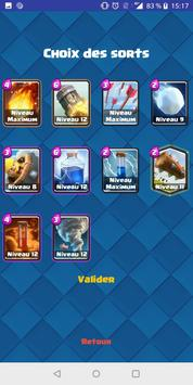 Spell Comparator pour Clash Royale screenshot 2