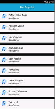 Nissa Sabyan Terbaru Offline 2019 screenshot 1