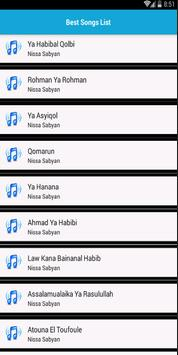 Nissa Sabyan Terbaru Offline 2019 screenshot 2