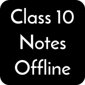 Class 10 Notes Offline icon