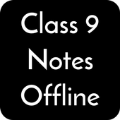 Class 9 Notes Offline icon
