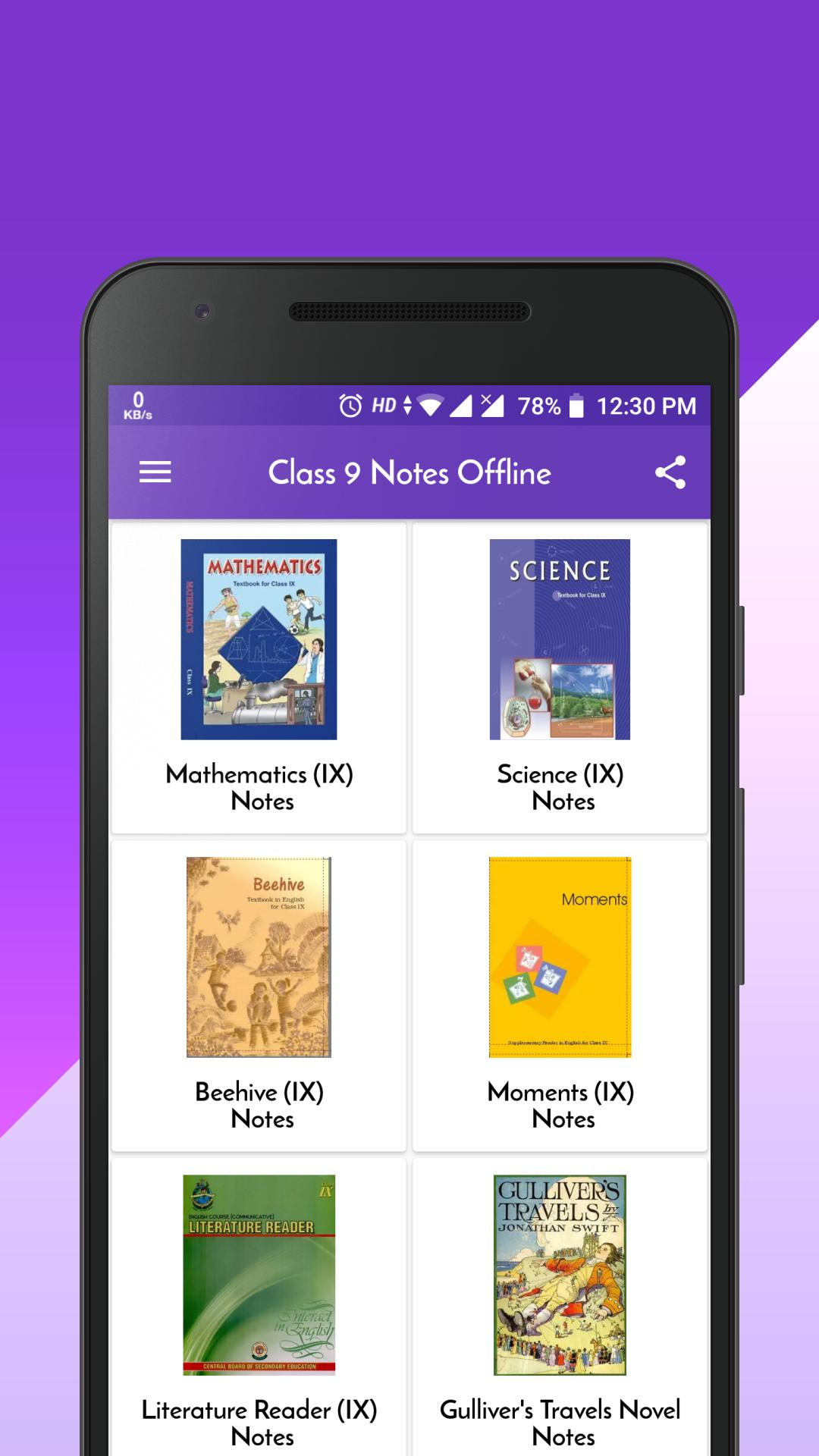 Class 9 Notes Offline for Android - APK Download