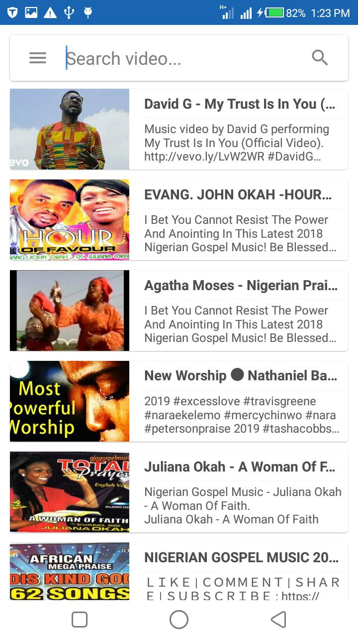 Nigerian Gospel Music : 🇳🇬 Worship Songs for Android - APK