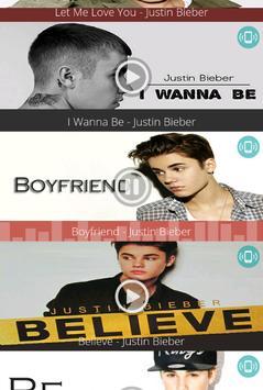 Justin Bieber - Free Ringtones screenshot 2