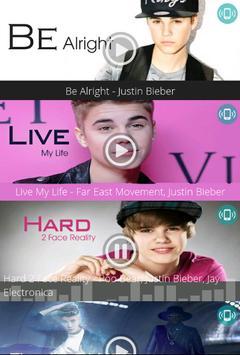 Justin Bieber - Free Ringtones screenshot 4