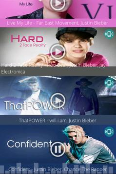 Justin Bieber - Free Ringtones screenshot 5