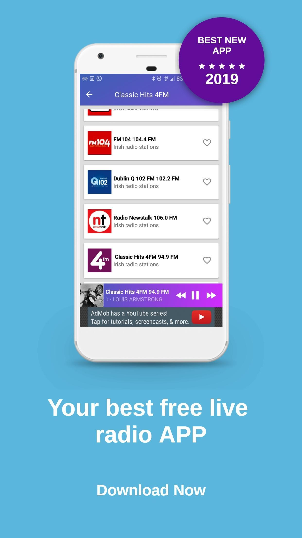 Classic Hits 4FM Ireland Radio for Android - APK Download