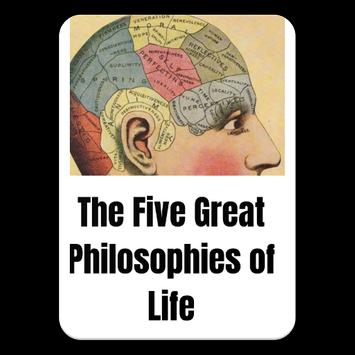 The Five Great Philosophies Of Life eBook poster