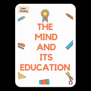 The Mind and Its Education by George Herbert Betts poster