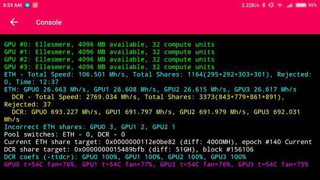 Claymore`s Monitor screenshot 4