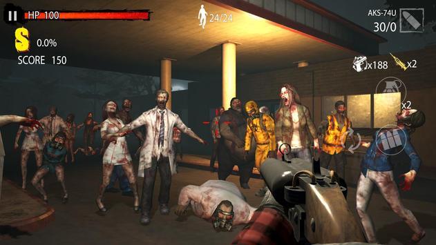 Zombie Hunter D-Day screenshot 4