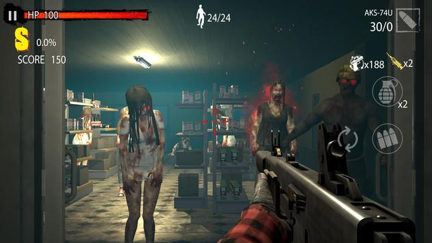 Zombie Hunter D-Day screenshot 1