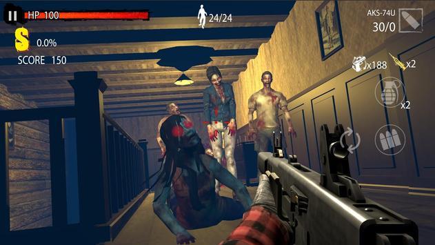 Zombie Hunter D-Day screenshot 2