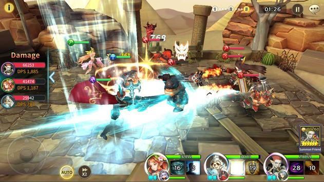 Soul Seeker: Six Knights – Strategy Action RPG screenshot 5