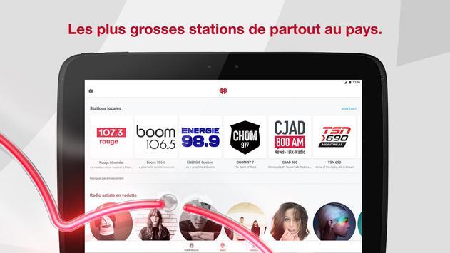 iHeartRadio capture d'écran 6