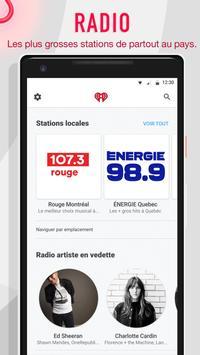 iHeartRadio capture d'écran 3