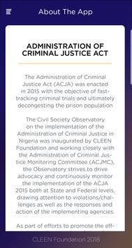 ADMINISTRATION OF CRIMINAL JUSTICE ACT screenshot 3