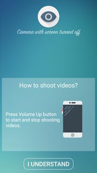 Camera with screen turned off screenshot 1