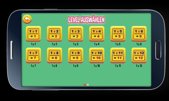 Multiplication Tables screenshot 2