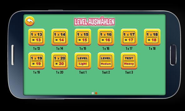 Multiplication Tables screenshot 3